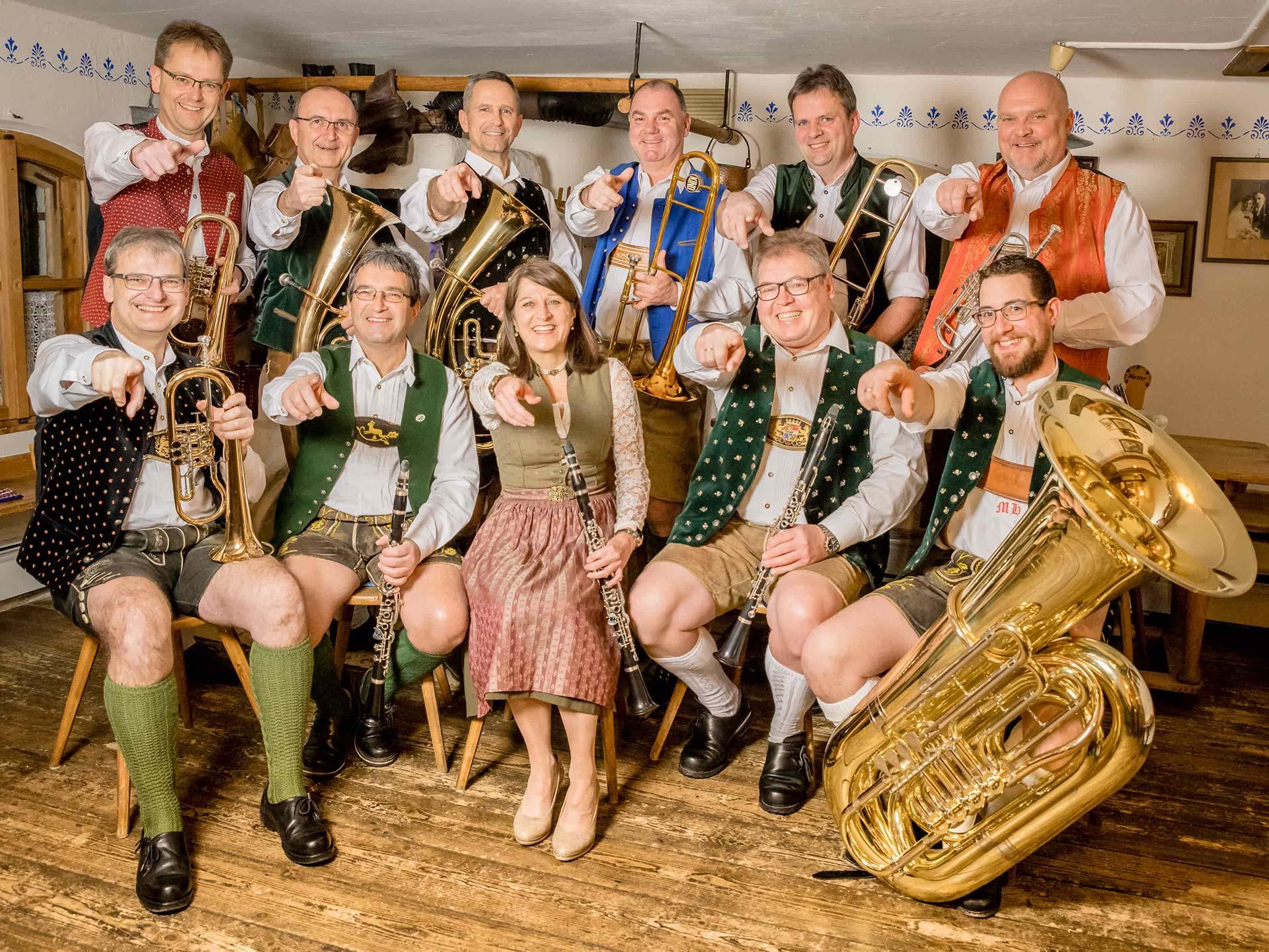 Oberlinger Musikanten im Bischofshof am Dom